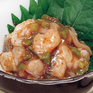 冷凍食品 業務用 生たこキムチ 1kg    お弁当 一品 惣菜 お通し 蛸 タコ キムチ 和食|syokusai-netcom