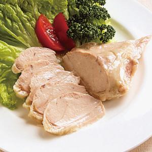 冷凍食品 業務用 蒸し鶏 500g    お弁当 サラダ トッピング 蒸し鶏 洋食|syokusai-netcom