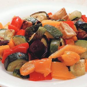 冷凍食品 業務用 菜園風グリル野菜のミックス 600g    お弁当 ズッキーニ なす 赤パプリカ 黄パプリカ カット野菜 ミックス|syokusai-netcom