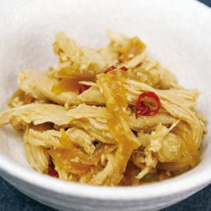 冷凍食品 業務用 蒸し鶏中華くらげ 500g    お弁当 一品 お通し 中華クラゲ 蒸し鶏 くたげ 小鉢 惣菜 和食 syokusai-netcom
