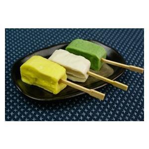 冷凍食品 業務用 生麩田楽三色セット 約23gx15串    お弁当 もちもち なまふ よもぎ麩 栗麩 餅麩 田楽 和食|syokusai-netcom