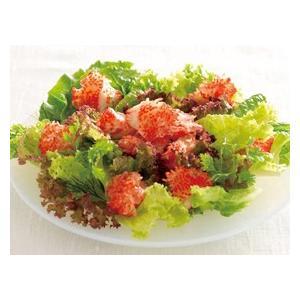 冷凍食品 業務用 オーシャンキング 花咲タイプかに 500g    お弁当 サラダ 炒飯 カニ 蟹 カニ風味|syokusai-netcom