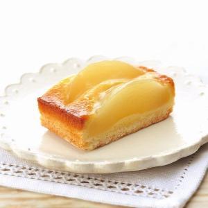 冷凍食品 業務用 フリーカットケーキ 白桃のタルト 1本380g    お弁当 バイキング パーティー 洋菓子 ケーキ|syokusai-netcom
