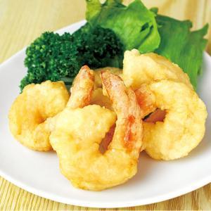 冷凍食品 業務用 尾付き海老フリッター 500g    お弁当 一品 揚物 エビフライ 洋食 えび|syokusai-netcom