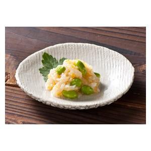 冷凍食品 業務用 帆立ひも黄金和え 1kg    お弁当 一品 惣菜 お通し 帆立 ホタテ 割烹|syokusai-netcom