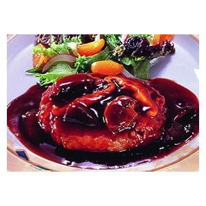 冷凍食品 業務用 デミソースDEハンバーグ 180g    お弁当 人気商品 ハンバーグ 洋食 肉料理 syokusai-netcom