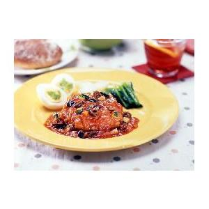 冷凍食品 業務用 トマトソース DE ハンバーグ180g    お弁当 野菜入り ハンバーグ 洋食 肉料理 syokusai-netcom