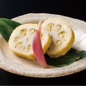 冷凍食品 業務用 からし蓮根 1kg    お弁当 からしれんこん 辛子蓮根 レンコン お惣菜 和食 ごま ゴマ 胡麻|syokusai-netcom