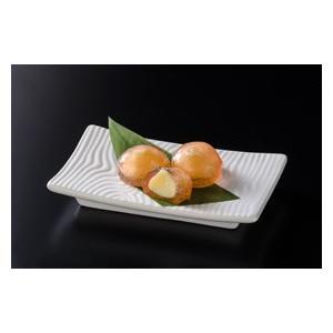 冷凍食品 業務用 葛りんご 約20gx20個    お弁当 カスタード もち 葛餅 和菓子 茶|syokusai-netcom
