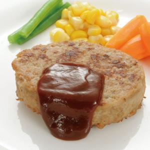冷凍食品 業務用 ハンバーグ 80g×15個 電子レンジ ハンバーグ 肉料理 洋食 syokusai-netcom