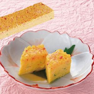 冷凍食品 業務用 カニと錦糸卵の彩り やわらかしんじょう    お弁当 しんじょ バイキング 弁当 和食 割烹|syokusai-netcom
