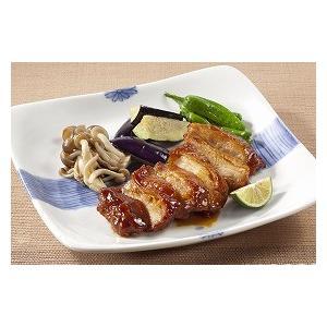 冷凍食品 業務用 鶏モモ肉 熟成照焼き 130g    お弁当 一品 惣菜 弁当 てりやき もも肉|syokusai-netcom