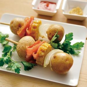 冷凍食品 業務用 冷凍北海道産S 玉皮つきポテト 1kg    お弁当 簡単 時短 煮物 じゃがいも ジャガイモ|syokusai-netcom