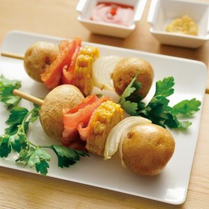 冷凍食品 業務用 冷凍北海道産S 玉皮つきポテト 1kg    お弁当 簡単 時短 煮物 じゃがいも ジャガイモ|syokusai-netcom|02