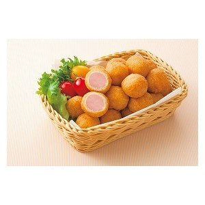 冷凍食品 業務用 ミニアメリカンドッグ(一口サイズ) 約13gx40個    お弁当 一口サイズ 電子レンジ オーブン あめりかんどっぐ ドッグ|syokusai-netcom