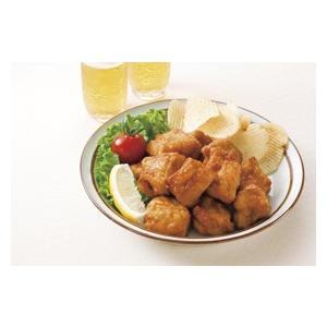 冷凍食品 業務用 自然解凍 若鶏の唐揚げ 500g    お弁当 一口サイズ 和風醤油味 からあげ カラアゲ 唐揚|syokusai-netcom