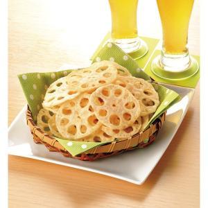 冷凍食品 業務用 れんこんチップス 500g袋 揚物 おつまみ フライ レンコン 蓮根 れん根|syokusai-netcom