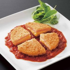 冷凍食品 業務用 JG5種のなめらか チーズハムカツ 120gx10個    お弁当 一品 バイキング パーティー はむかつ カツ|syokusai-netcom