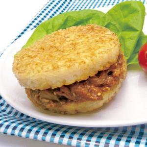 冷凍食品 業務用 冷凍食品 業務用 ライスバーガー焼肉 120g×2個|syokusai-netcom