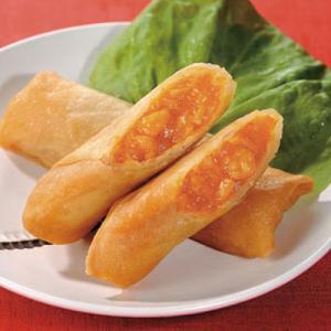 冷凍食品 業務用 パリッとえびチリ春巻 20個入    お弁当 一品 飲茶 味の素 はるまき 中華 点心|syokusai-netcom