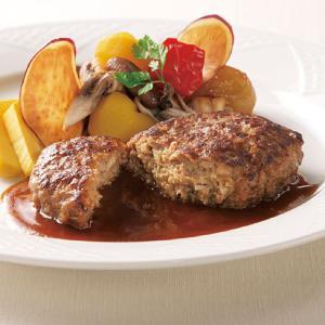 冷凍食品 業務用 ハンバーググロッソ 110g 焼目 肉厚感 ハンバーグ 洋食 アラカルト 牛肉 syokusai-netcom