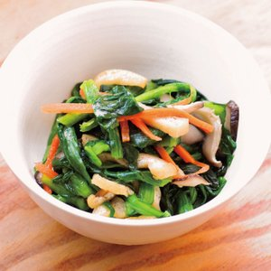 冷凍食品 業務用 チンゲン菜の中華浸し 1袋500g    お弁当 一品 惣菜 お通し 弁当 和食 惣菜 syokusai-netcom