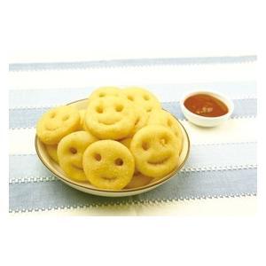 冷凍食品 業務用 スマイルポテト 600g(約35個入)    お弁当 一品 揚物 ポテト 洋食|syokusai-netcom