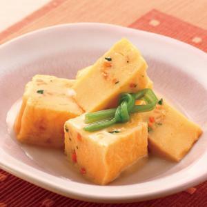 冷凍食品 業務用 やわらか あんかけ玉子焼き 野菜入り 490g 12個      お弁当 たまご焼 玉子焼 卵焼 和食 惣菜|syokusai-netcom