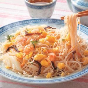 冷凍食品 業務用 エビ玉ビーフン 180g    お弁当 一品 惣菜 中華調理 中華 エスニック|syokusai-netcom