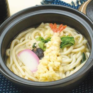 冷凍食品 業務用 具付麺 えび天鍋焼うどん 300g    お弁当 関西風うどんだし 即席麺 海老天 饂飩|syokusai-netcom