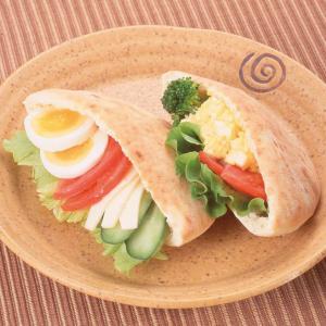 冷凍食品 業務用 ピタパン 約80g×5枚 中が空洞 サンドウィッチ 洋食 スナック syokusai-netcom
