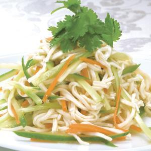 冷凍食品 業務用 友盛貿易 とうふ麺 豆腐干糸とうふがんす 500g 大豆加工品 豆腐 トウフ|syokusai-netcom