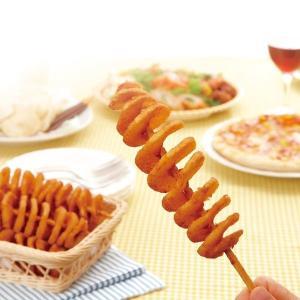 冷凍食品 業務用 ハリケーンポテト 325g (約65g×5本)    お弁当 一品 揚物 スナック フライドポテト フライドポテト|syokusai-netcom