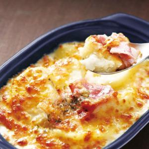 冷凍食品 業務用 ポテトベーコングラタン 200g 電子レンジ 惣菜 一品 じゅがいも チーズ ホワイトクリーム syokusai-netcom