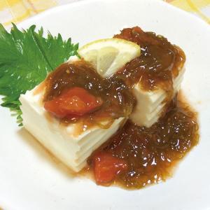 冷凍食品 業務用 オジマ食品)トマトもずく 500g    お弁当 一品 惣菜 お通し モズク とまと|syokusai-netcom