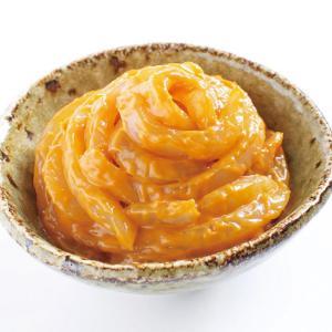 冷凍食品 業務用 かね徳)甲いかうにかにみそ 500g    お弁当 一品 惣菜 お通し 烏賊 雲丹 蟹|syokusai-netcom