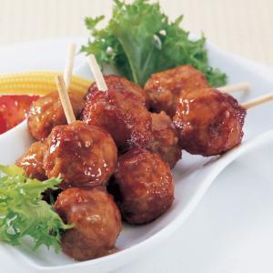 冷凍食品 業務用 ケイエス つくね串 2個串×6本 串焼 串揚 焼鳥 串焼|syokusai-netcom