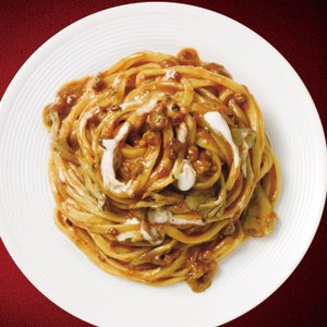 冷凍食品 業務用 日清フーズ)クリーミーボロネーゼ 275g    お弁当 軽食 朝食 バイキング 簡単 温めるだけ パスタソース|syokusai-netcom