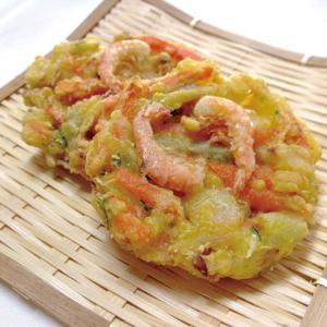 冷凍食品 業務用 野菜がおいしいえびかき揚げ 約50g×6個 揚物 おつまみ かきあげ やさい 海老|syokusai-netcom