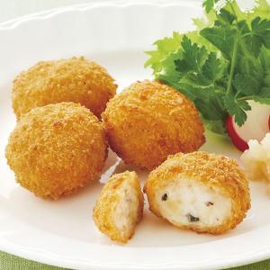 冷凍食品 業務用 トリュフ香るミニクロケット 270g(15個入)    お弁当 クリームコロッケ コロッケ 洋風調理 洋食 フライ バル 一品|syokusai-netcom