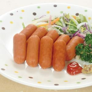 冷凍食品 業務用 お弁当用皮なしウインナー 500g    お弁当 子供 幼稚園 洋風調理 洋食 肉料理 洋食一品|syokusai-netcom