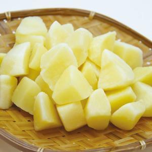 冷凍食品 業務用 ジャガイモ乱切り 1kg 1個10-15g じゃがいもカット 冷凍野菜 カット野菜|syokusai-netcom