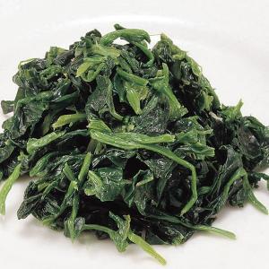冷凍食品 業務用 カットほうれん草 1kg。(ブロック凍結)    お弁当 バラ凍結 簡単 時短 野菜 カット野菜|syokusai-netcom