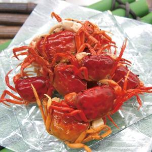 グルメ 冷凍食品 業務用 沢蟹味付 約160g 40尾 販売期間 4月末-8月 弁当 蟹 かに 夏の素材 さわがに|syokusai-netcom