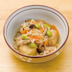 冷凍食品 業務用 鶏団子のきのこあんかけ185g 和食 居酒屋 個食 キノコ とり 和風肉惣菜|syokusai-netcom