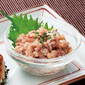 冷凍食品 業務用 あじたたきなめろう 200g 小鉢 一品 アジ 鯵 タタキ ナメロウ 魚介類|syokusai-netcom