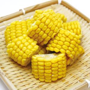 冷凍食品 業務用 カットコーンハーフ 1.2kg(約40個入)    お弁当 簡単 時短 便利 野菜 カット野菜 とうもろこし 野菜