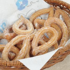 冷凍食品 業務用 スペイン産チュロス 1kg    お弁当 おやつ ケーキ 洋菓子 チュロス デザート