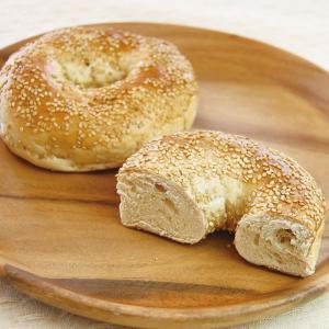 冷凍食品 業務用 バスコベーグル セサミ 約120g×6個    お弁当 パン 牛乳不使用 バター不使用 卵不使用 ベーグル 洋食 朝食|syokusai-netcom