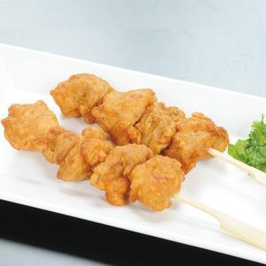 冷凍食品 業務用 鶏唐揚げ棒 420g(約70g×6本)    お弁当 からあげ 串 イベント 和食 揚げ物|syokusai-netcom